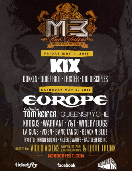M3 Rock Festival - Friday at Merriweather Post Pavilion