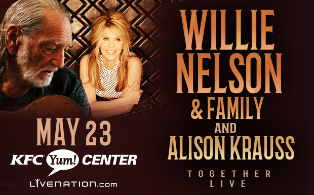 Willie Nelson & Alison Krauss at Merriweather Post Pavilion