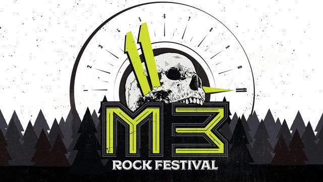 M3 Rock Festival - Sunday at Merriweather Post Pavilion