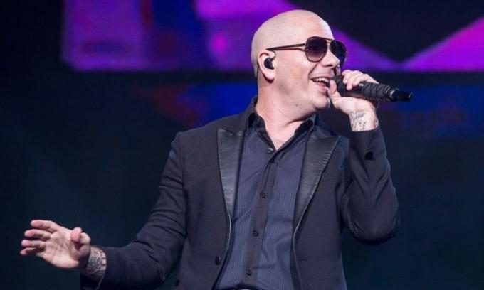 Pitbull at Merriweather Post Pavilion