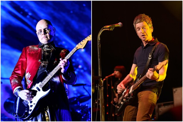 Smashing Pumpkins & Noel Gallagher's High Flying Birds at Merriweather Post Pavilion
