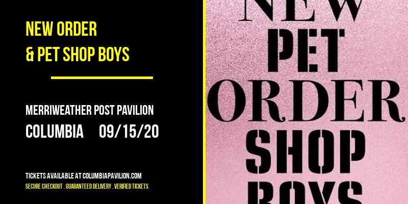 New Order & Pet Shop Boys at Merriweather Post Pavilion