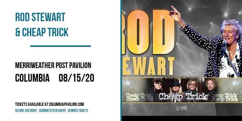 Rod Stewart & Cheap Trick at Merriweather Post Pavilion