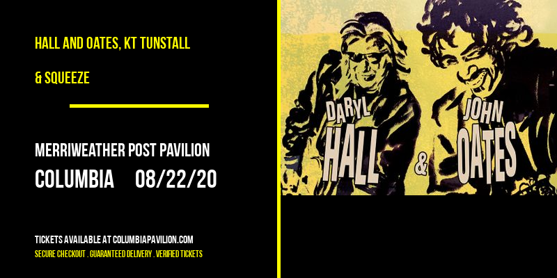 Hall and Oates, KT Tunstall & Squeeze at Merriweather Post Pavilion