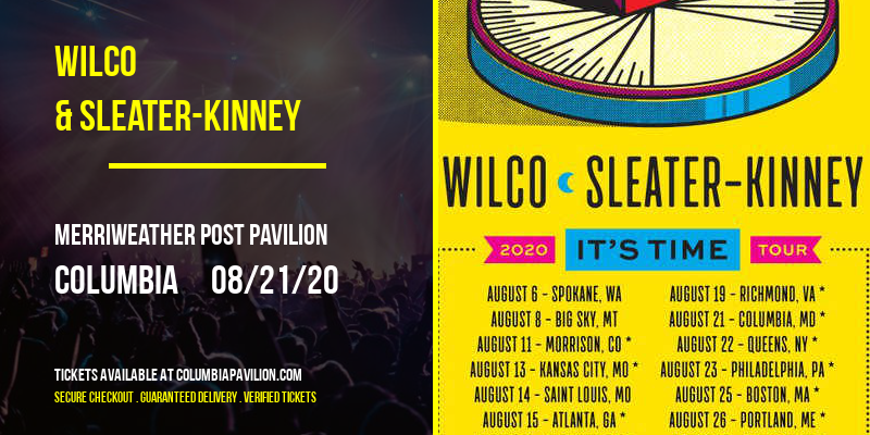 Wilco & Sleater-Kinney at Merriweather Post Pavilion