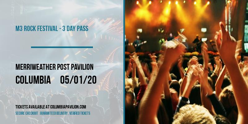 M3 Rock Festival - 3 Day Pass at Merriweather Post Pavilion