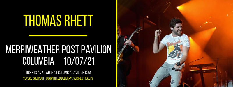 Thomas Rhett at Merriweather Post Pavilion