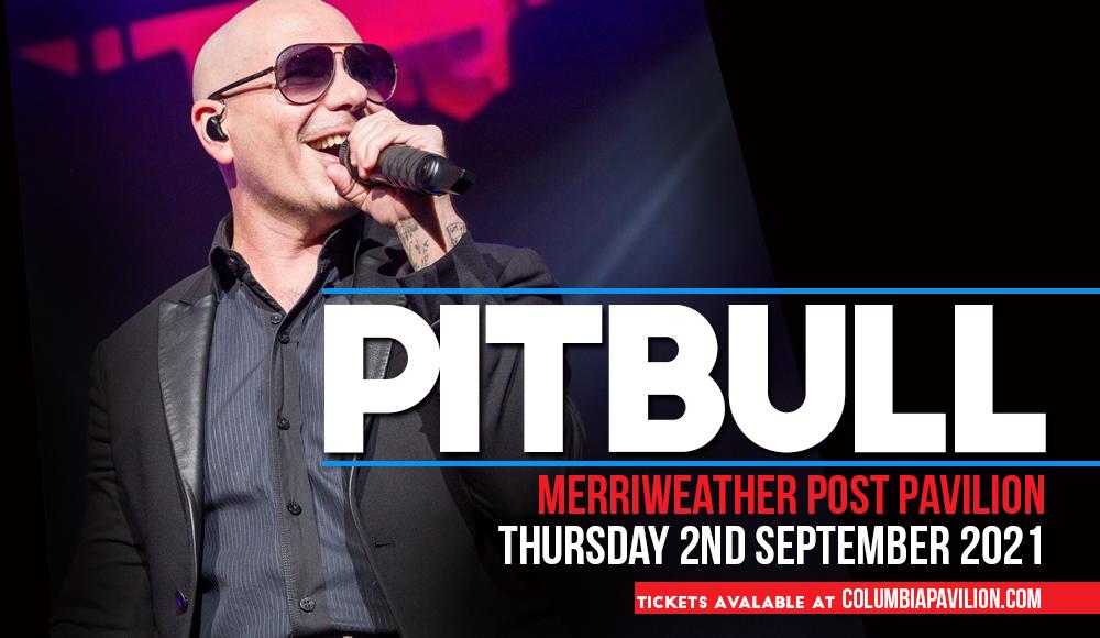 Pitbull at Merriweather Post Pavilion