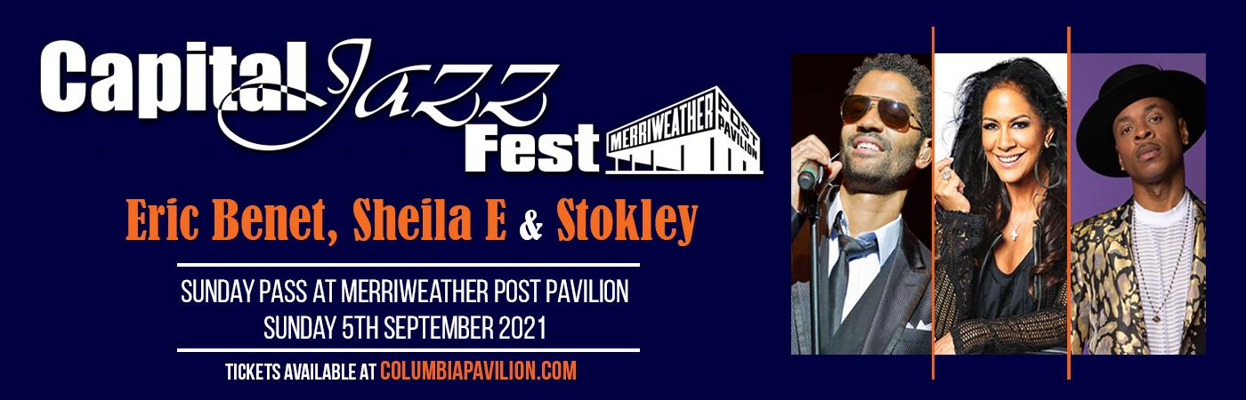 Capital Jazz Fest: Eric Benet, Sheila E & Stokley - Sunday Pass at Merriweather Post Pavilion