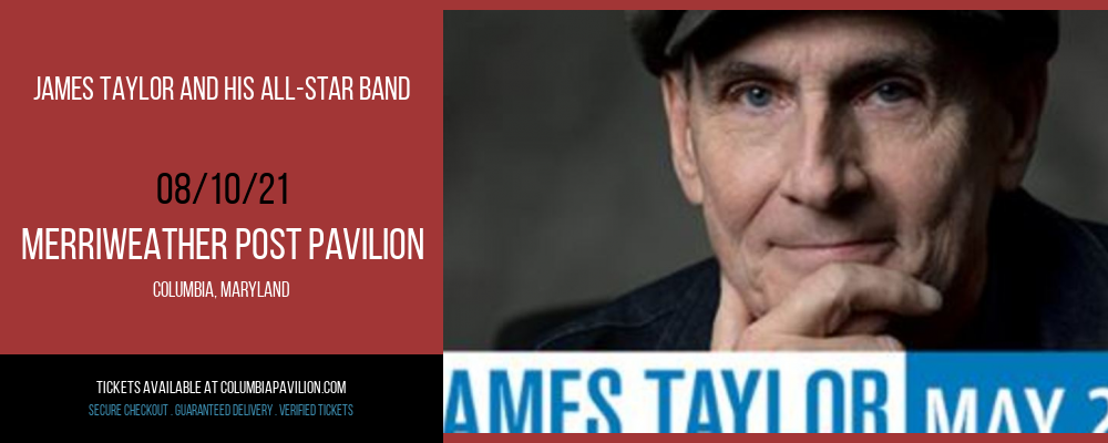 James Taylor and His All-Star Band at Merriweather Post Pavilion