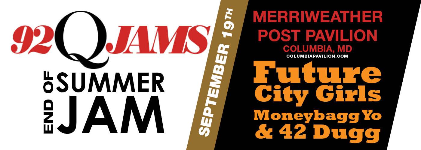 92Q End Of Summer Jam: Future, City Girls, Moneybagg Yo & 42 Dugg at Merriweather Post Pavilion